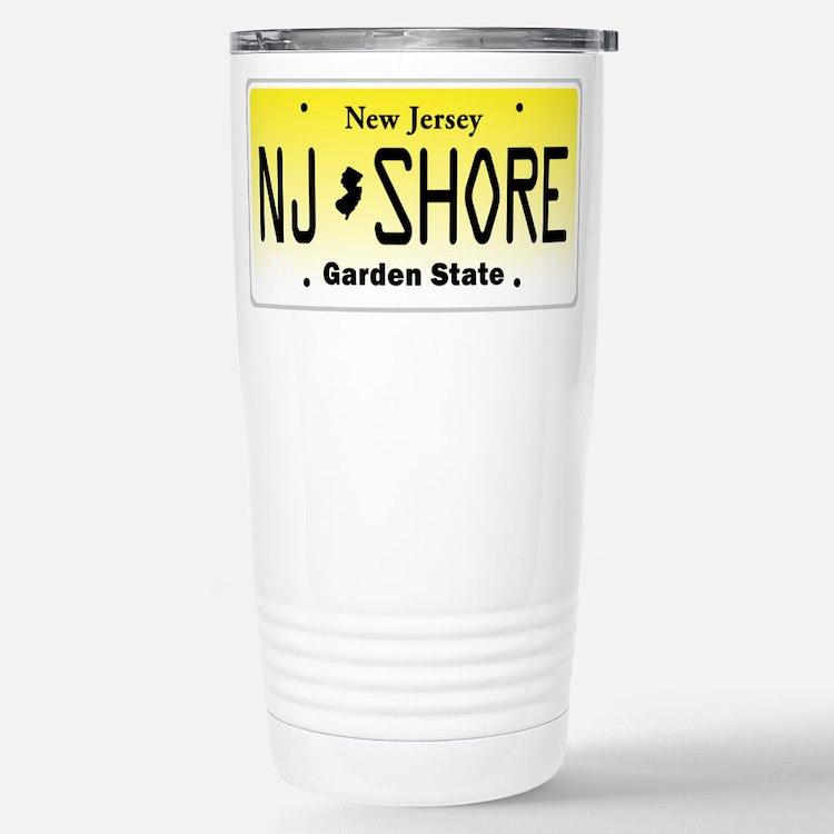 New Jersey, License Plate, Jersey Shore Travel Mug