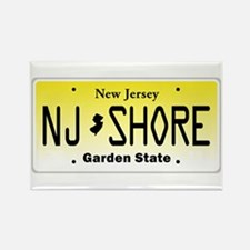 New Jersey, License Plate, Jersey Shore Rectangle