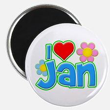 I Heart Jan Magnet