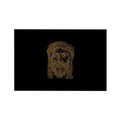 Jesus Face V2 Rectangle Magnet (10 pack)