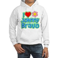 I Heart Johnny Bravo Hoodie