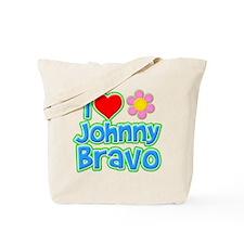 I Heart Johnny Bravo Tote Bag