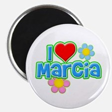 I Heart Marcia Magnet