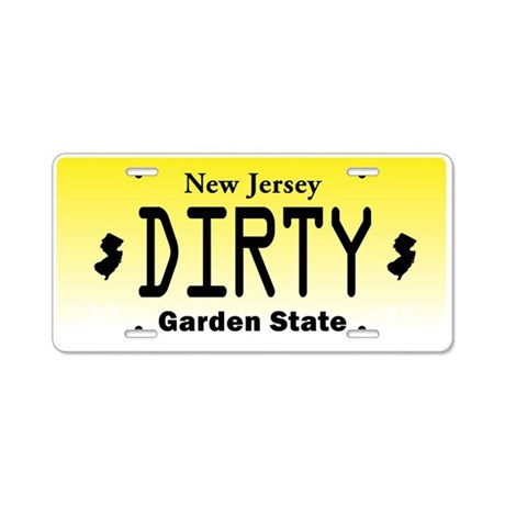 New Jersey DIRTY License Plate Aluminum License Pl By