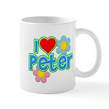 I Heart Peter Small Mug