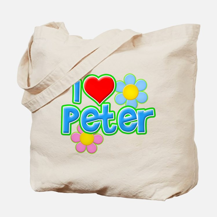 I Heart Peter Tote Bag