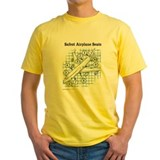 Journalism Mens Yellow T-shirts