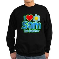 I Heart Sam the Butcher Dark Sweatshirt