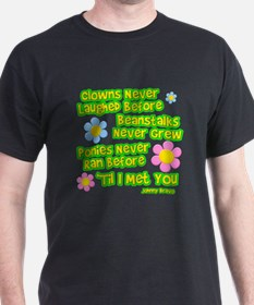 Clowns Never Laughed Before T-Shirt