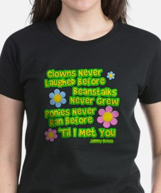 Clowns Never Laughed Before Tee