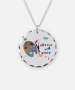 Artist At Work Necklace