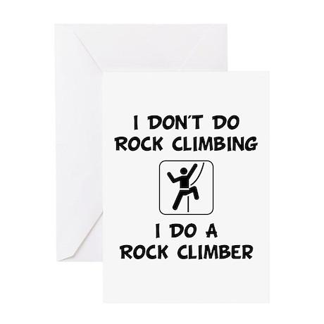 Do A Rock Climber Greeting Card