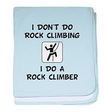 Do A Rock Climber baby blanket