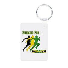 Jamaica Running Keychains