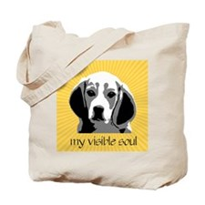 Beagles: My Visible Soul Tote Bag