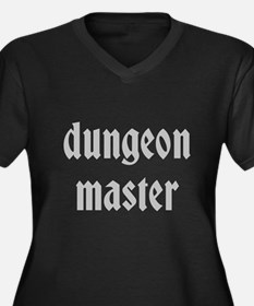 Dungeon Master Women's Plus Size V-Neck Dark T-Shi