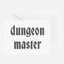 Dungeon Master Greeting Card