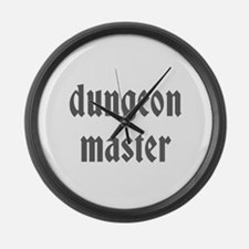 Dungeon Master Large Wall Clock