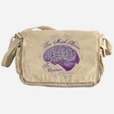 Too Much Brain to Contain Messenger Bag