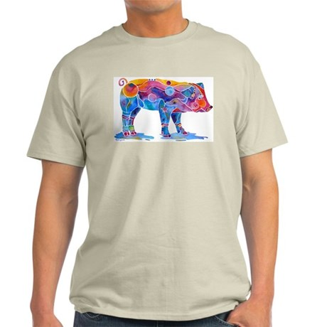 Pigs of Many Colors Light T-Shirt