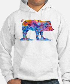 Pigs of Many Colors Hoodie