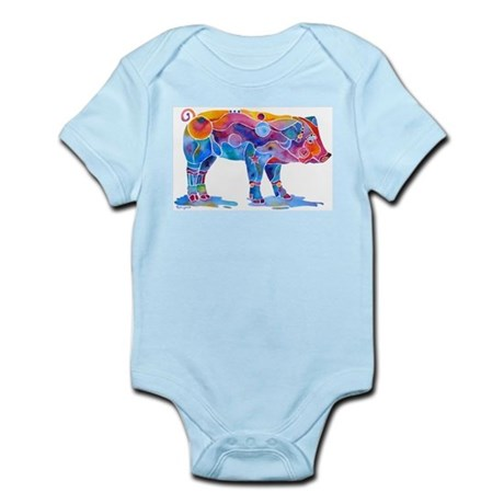 Pigs of Many Colors Infant Bodysuit