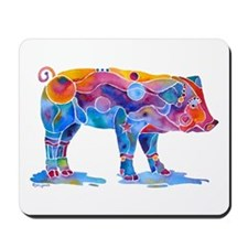 Pigs of Many Colors Mousepad