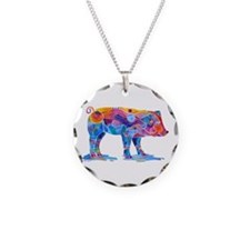 Pigs of Many Colors Necklace