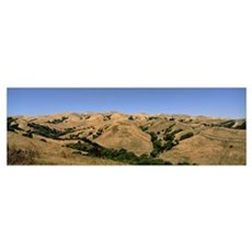 Hill range, Dublin, Alameda County, California Canvas Art