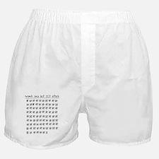 Obsessive Compulsive Tally Boxer Shorts