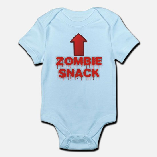 Zombie Snack Infant Bodysuit