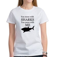 Don't Mess with Sharks Tee