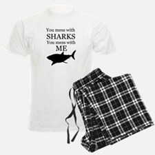 Don't Mess with Sharks Pajamas