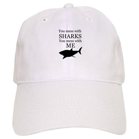 Don't Mess with Sharks Cap