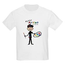 Messy Artist At Work T-Shirt