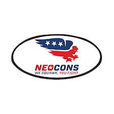 Neocon Chickenhawk Logo Patches