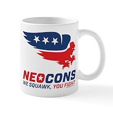 Neocon Chickenhawk Logo Mug