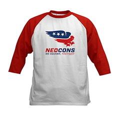 Neocon Chickenhawk Logo Tee