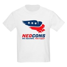 Neocon Chickenhawk Logo T-Shirt