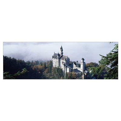 Castle, Neuschwanstein Castle, Bavaria, Germany Poster