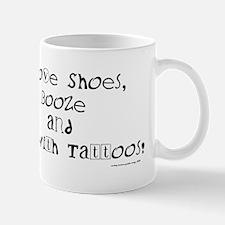 I love (blk) Mug