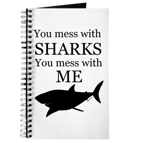 Don't Mess with Sharks Journal