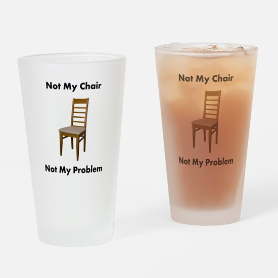 Cute Chairs Drinking Glass