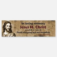 """""""In Loving Memory"""" Bumper Bumper Sticker"""