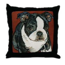 Boston Terrier Puppy Pillow