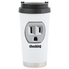 Shocking Wall Outlet Travel Mug