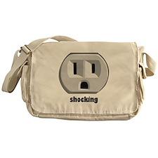 Shocking Wall Outlet Messenger Bag