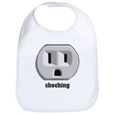 Shocking Wall Outlet Bib