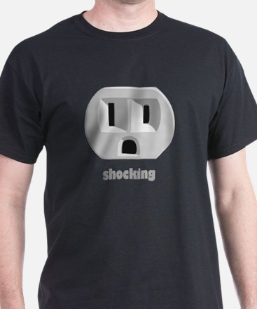 Shocking Wall Outlet T-Shirt