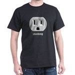 Shocking Wall Outlet Dark T-Shirt